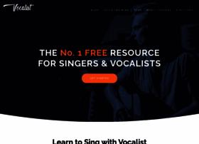 Vocalist.org.uk thumbnail