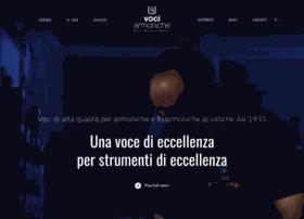 Vociarmoniche.it thumbnail