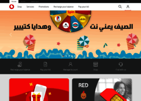 Vodafone.com.eg thumbnail