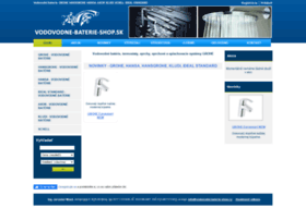 Vodovodne-baterie-shop.sk thumbnail