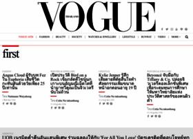 Vogue.co.th thumbnail