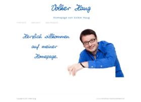 Volker-haug.de thumbnail
