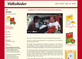 Volksliedsammlung.de thumbnail