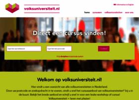 Volksuniversiteit.nl thumbnail