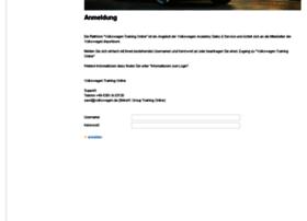 volkswagen-training-online at wi. training portal