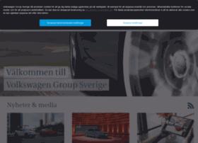Volkswagengroup.se thumbnail