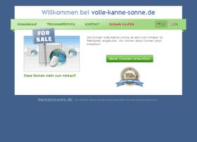 Volle-kanne-sonne.de thumbnail
