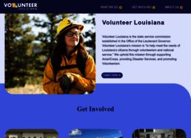 Volunteerlouisiana.gov thumbnail