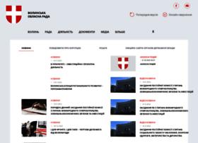 Volynrada.gov.ua thumbnail