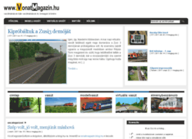 Vonatmagazin.hu thumbnail