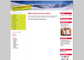 Vorarlbergdays.at thumbnail