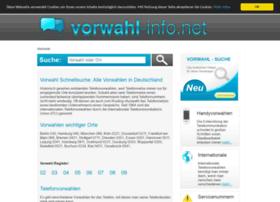 Vorwahl-info.net thumbnail