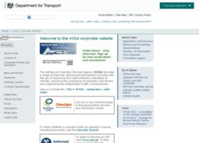 Vosa.gov.uk thumbnail