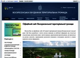Voskresenka-gromada.gov.ua thumbnail