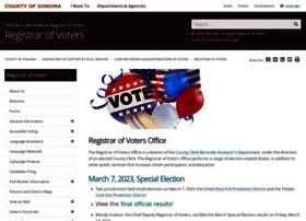 Vote.sonoma-county.org thumbnail