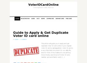 Voteridcardonline.com thumbnail