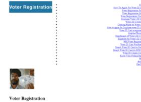 Voterregistration.in thumbnail