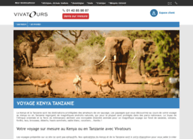 Voyages-kenya-tanzanie.fr thumbnail