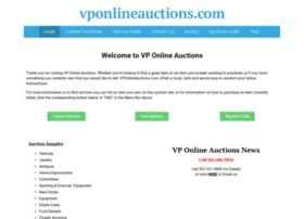 Vponlineauctions.com thumbnail