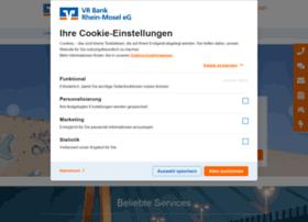 Vr-bank-rhein-mosel.de thumbnail