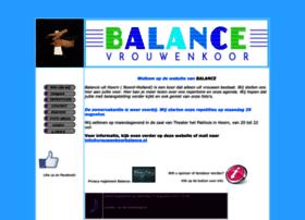 Vrouwenkoorbalance.nl thumbnail