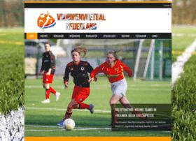 Vrouwenvoetbalnederland.nl thumbnail