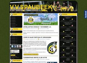 Vvspaubeek.nl thumbnail