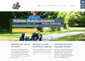 Waikatomobilityscooters.co.nz thumbnail