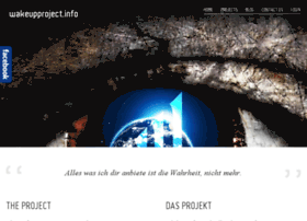 Wakeupproject.info thumbnail