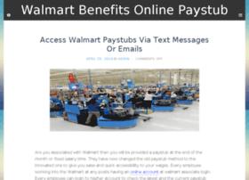 Walmartbenefitsonlinepaystub.com thumbnail