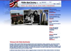Walterreedsociety.org thumbnail