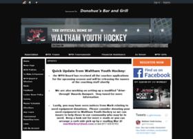 Walthamyouthhockey.org thumbnail
