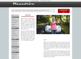 Wanadrive.co.uk thumbnail