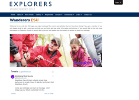 Wanderersesu.org.uk thumbnail