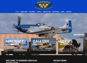 Warbirdheritagefoundation.org thumbnail
