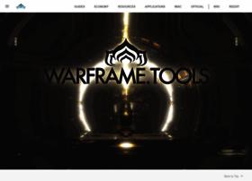 Warframe.tools thumbnail