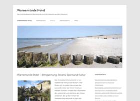 Warnemuende-hotel.de thumbnail