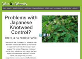 Waronweeds.co.uk thumbnail