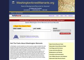 Washingtonarrestwarrants.org thumbnail