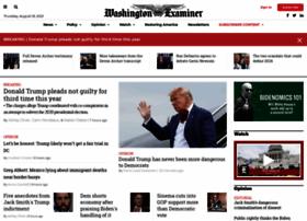 Washingtonexaminer.com thumbnail