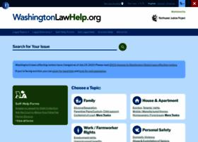 Washingtonlawhelp.org thumbnail