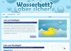 Wasserbett-aber-sicher.de thumbnail