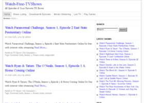 Watch-free-tvshows.com thumbnail