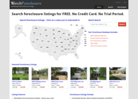 Watchforeclosure.com thumbnail