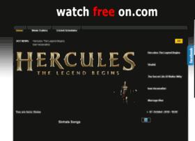 Watchfreeon.com thumbnail