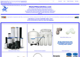 Waterfiltersonline.com thumbnail