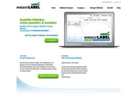 Watsonlabel.net thumbnail