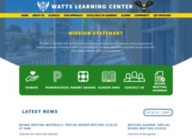 Wattslearningcenter.org thumbnail