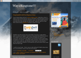 Way2ringtone.blogspot.in thumbnail