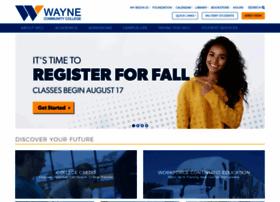 Waynecc.edu thumbnail